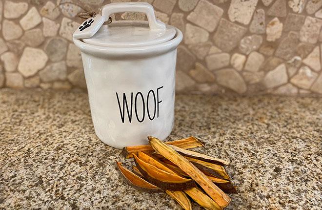 Homemade Sweet Potato Dog Chews Recipe